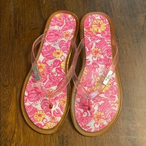 Lilly Pulitzer jelly sandals size 7